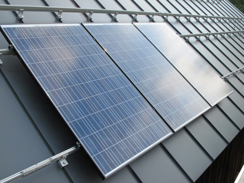 Standing Seam Metal Roof With Solar Panels Standing Seam Metal Roof With Solar Panels our barn roof gets an 18 kw solar array greenbuildingadvisor 1050 X 787 - Metal Roofing
